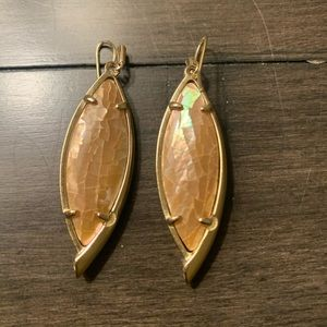 Kendra Scott - UNIQUE Earrings (Gold/Brown)